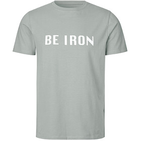 Fe226 Be Iron T-shirt, drizzle grey